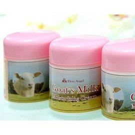~揪感心 伊勒安卓澳洲山羊奶淨白保溼面霜1罐~~採用澳洲 山羊奶及羊毛脂萃取 添加傳明酸、