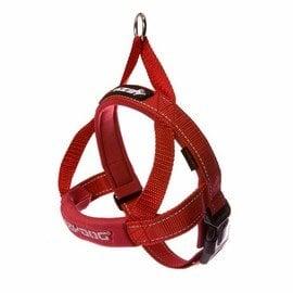 ^~~澳洲~ ^#65439  EzyDog~ 快套式胸背帶 ^~^~ XXS號 紅色 ~
