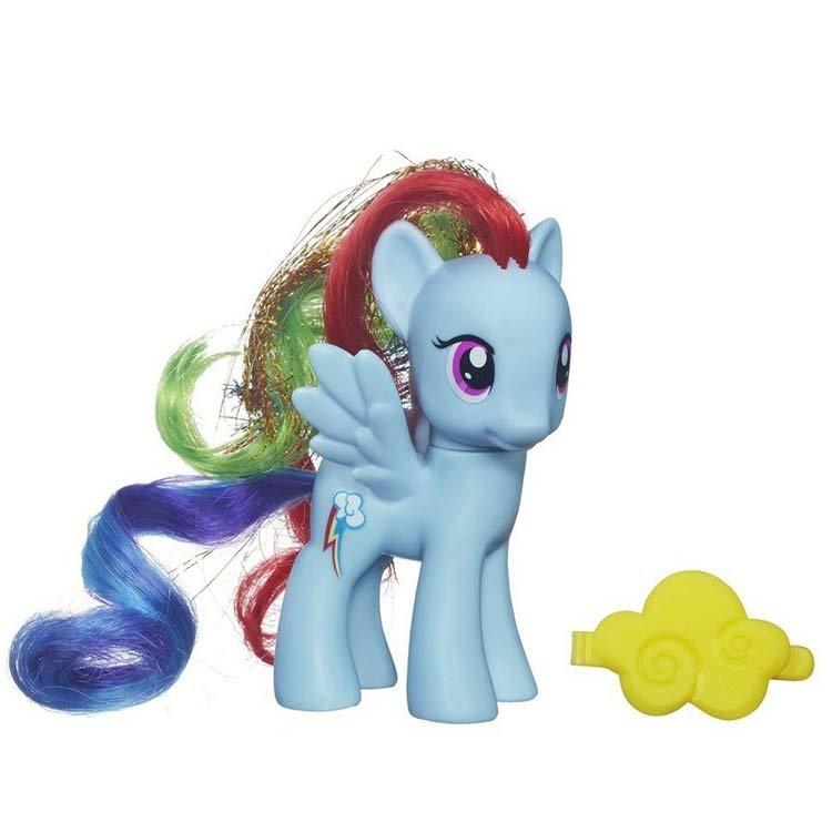 双闪电的可爱标志的小马叫什么