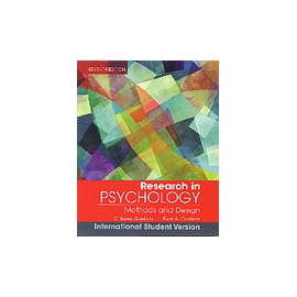 Research In Psychology: Methods and Design 7