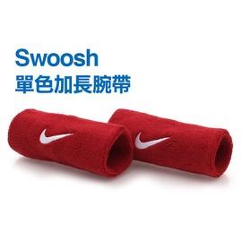 NIKE Swoosh 加長型 運動腕帶(籃球 網球 排羽球 一雙入【98341067】≡排汗專家≡