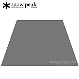 【日本 Snow Peak 】加長型客廳帳Pro-專用地布/搭配TP-660.210D 滌綸牛津布.PU 塗層耐水壓1,800mm/TP-660-1