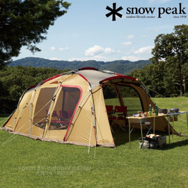 【日本 Snow Peak】Tortue Light-TT 圓弧別墅帳蓬Light.家庭帳棚.兩用一房一廳露營帳.帳棚/TP-770R的輕量款.整合式客廳帳 TP-750