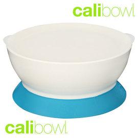 『DBA20』美國Calibowl專利防漏學習吸盤碗12oz附蓋-藍)【保證公司貨●品質有保證】