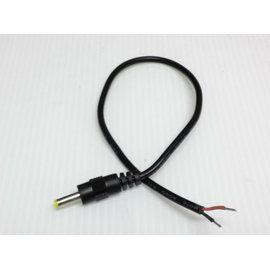 (工程用) DC 4.0mm*1.7mm公頭/裸線 電源線/充電線/轉接線 (30cm)
