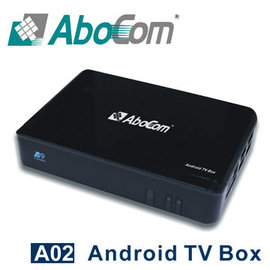 Abocom友旺 A02 mini PC 智慧電視盒 Android TV Box
