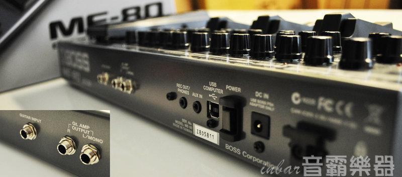 【音霸乐器】电吉他效果器/2014最新款boss me-80电吉他综合效果器