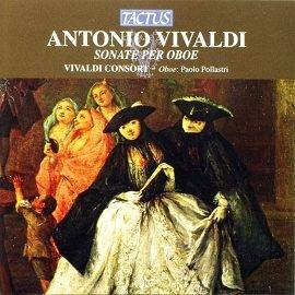 TACTUS TC672203 韋瓦第雙簧管奏鳴曲 Antonio Vivaldi Son
