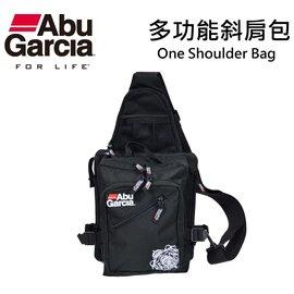 ◎百有釣具◎瑞典ABU One Shoulder Bag 多功能斜肩包~大小適中,方便您外出釣魚遊玩的包款,特殊的斜背包設計
