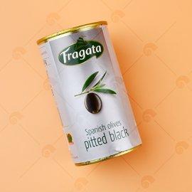 【艾佳】Fragata 帆船牌整粒去子黑橄欖350g -易開罐/罐