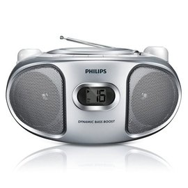 PHILIPS 飛利浦 CD手提音響(銀色) AZ105S / AZ-105S