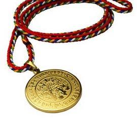 ~藏傳佛教文物~大白傘蓋心咒項鍊 吊墜 護身符 PB~N023