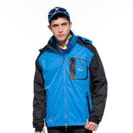 來自 休閒領導品牌~Sasaki~兩件式 全天候防水透濕 夾克 ^(內附保暖夾克^) 80