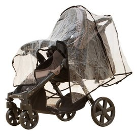 【紫貝殼】『GG05-2』Britax-B-Agile 單手收豪華四輪手推車【BX00366】專用雨罩【店面經營/可預約看貨】