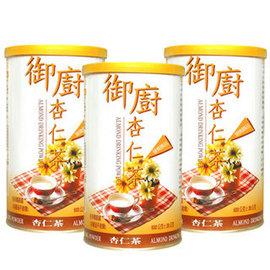 ~御廚膳品~潤喉杏仁茶600g^(無糖口味^)~~3 罐組 買就送薏仁水一包