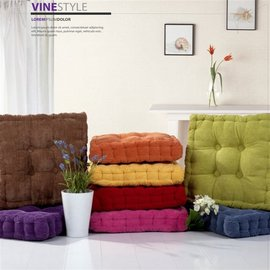 •Vine Style • 燈芯絨布 ~ 厚實減壓不變形~玩色胖胖坐墊靠墊~