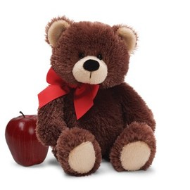 美國GUND黑巧克力泰迪熊 S