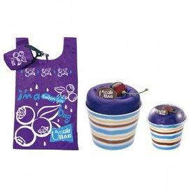 陽光藍莓慕斯蛋糕 袋 環保袋 手提袋  生日 結婚 活動禮 禮贈品