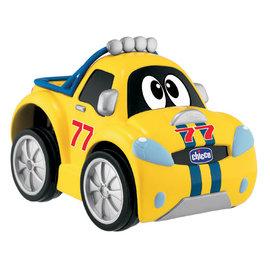Chicco 壓壓樂跑車,贈:黃色小鴨隨手包濕紙巾*1包       (粉/藍)