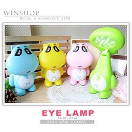 【winshop】A1893 16LED燈酷比熊檯燈/狸貓檯燈/USB充電式檯燈/LED桌燈夜燈/環保節能燈/動物造型燈/露營燈