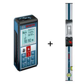 BOSCH 雷射藍芽測距儀GLM100C(100m)★測量結果直接移轉★內建360度智慧傾斜感應器★即日起凡購買贈送行動電源*1