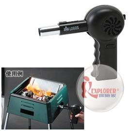 探險家戶外用品㊣NO.81336501  日本品牌LOGOS 電動伸縮鼓風機 烤肉架送風器 生炭生火起火師