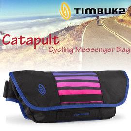 【美國 TIMBUK2】Catapult 輕巧郵差包(M,5L).筆電背包.多功能手提袋.信使包.書包.側背包.機車包 /742-4-4062 藍紫條紋