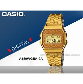 CASIO手錶 國隆_CASIO A159WGEA~9A_ 風潮復古金_普普風_數字電子錶