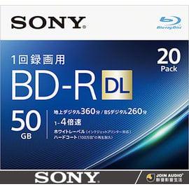 ~醉音影音 ~ Sony BD~R DL 50GB 4X ^(單片^) 藍光空白片 燒錄片