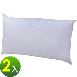 【蒙娜麗莎】寬70x長42x高20/cm(扎實中高型枕)美式暢銷棉枕-枕心-2入組 PO7042PL-2