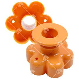 【艾佳】SN4186花型甜甜圈模/個