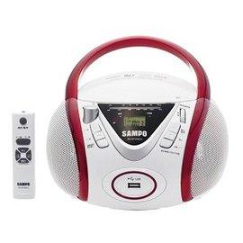 SAMPO 聲寶 CD/MP3/USB 手提音響 AK-W1204UL 附遙控器
