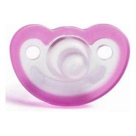 【紫貝殼】『KA03-4』美國Jollypop 醫療級香草奶嘴(出生適用)-【甜心粉】【美國製造、原廠進貨 】【月子中心強力推薦】