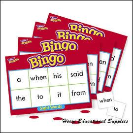 ~T~6064~Sight Words Level 1 常見字BINGO寶盒 Level