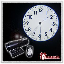 【Q禮品】A1916 LED投影鐘-附遙控器/投影時鐘/創造個性生活的燈飾與時鐘的完美結合,營造咖啡廳小酒館氣氛