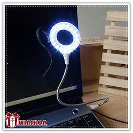 【Q禮品】A1929 USB 18LED蛇燈/LED蛇燈/閱讀燈/可彎曲led燈/LED小夜燈/可接行動電源變露營燈