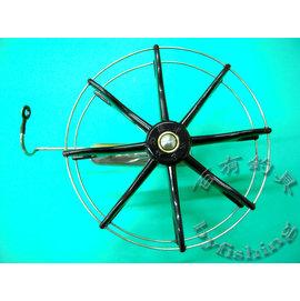 ◎百有釣具◎ABS 牛車輪 導環+車心 8cm、9cm