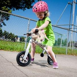 【紫貝殼】『CID18』瑞士 Micro G-Bike+ 銀色:幼童滑步車