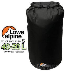 【英國 LOWE ALPINE】RucksacLiner 輕量型防水內袋(S/40-50L)/打包袋.收納袋.裝備袋.內袋.打理包_黑 FAD-48-1
