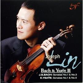 N   F NF23003 林以信 新聲之旅 巴赫 伊沙易小提琴曲 Joseph Lin