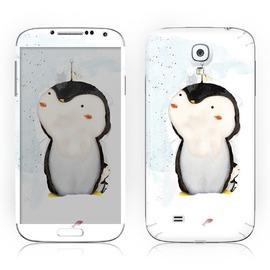 韓國知名SKINNYSKIN彩貼 Samsung Galaxy S4   企鵝 非手機殼、