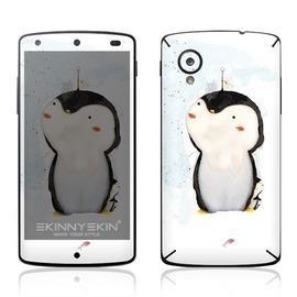 ~SKINNYSKIN彩貼~Google Nexus 5 非手機殼、皮套、電磁 圖案:企鵝