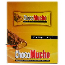 【吉嘉食品】chocomucho 久口木久巧克力(花生醬),1盒10條70元{4800092660801:10}