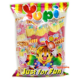【吉嘉食品】YUPI呦皮 薯條QQ糖/軟糖 200公克58元,另有漢堡軟糖,牛奶糖{8992741968898:200}