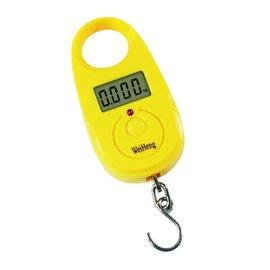 ◎百有釣具◎FUKUSHIMA  WH-A11 電子魚秤~附電池  規格:小(25kg)特價199元