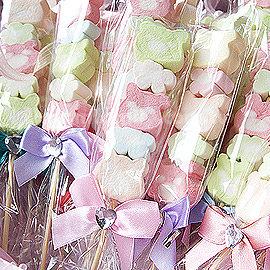 ~幸福朵朵~╯~婚禮小物~小熊花園棉花糖100枝~~送客禮 活動禮 婚禮小物^(若須小卡另