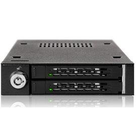 ~上震科技~ICY DOCK MB992SK~B 黑色 雙層2.5吋SATA硬碟抽取盒