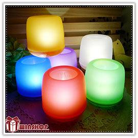 【Q禮品】A1946 聲控蠟燭杯燈/LED燈/蠟燭燈/小夜燈/居家婚禮佈置/情境燈/感應燈