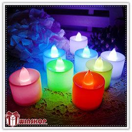 【winshop】A1944 七彩蠟燭燈-中/LED擬真蠟燭燈/生日蠟燭/小夜燈/居家婚禮佈置/LED燈/情境燈