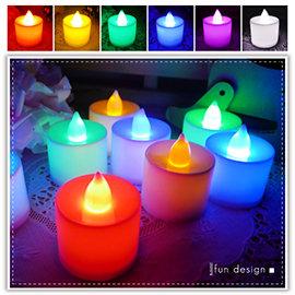 【Q禮品】A1945 單色蠟燭燈-中/LED擬真蠟燭燈/生日蠟燭/小夜燈/居家婚禮佈置/LED燈/情境燈